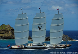Clipper ship Maltese Falcon