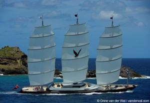 Clipper ship Maltese Falcon